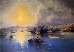VR43 Ivan Konstantinovič Aivazovsky - Konstantinopol, západ slunce