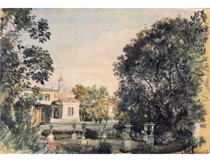 VALT 68 Rudolf von Alt - Imperial Livadia palác v Krymu
