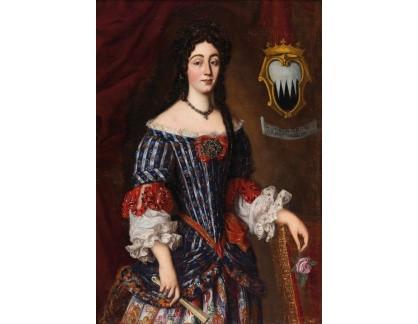 Slavné obrazy I-DDSO-198 Jacob Ferdinand Voet - Portrét Lucrezie Ruffo