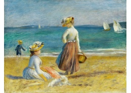 DDSO-2319 Pierre-Auguste Renoir - Postavy na pláži
