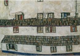 D-7140 Egon Schiele - Zeď domu