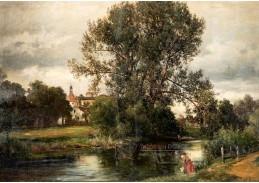 A-507 Alois Kirnig - Pohled na Jindřichův Hradec