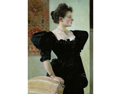 VR3-106 Gustav Klimt - Portrét Marie Breunig
