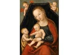 VlCR-101 Lucas Cranach - Madonna s dítětem