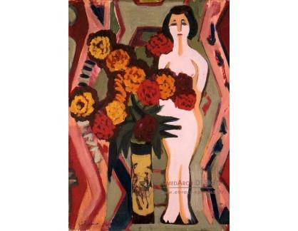 VELK 47 Ernst Ludwig Kirchner - Zátiší s plastikou