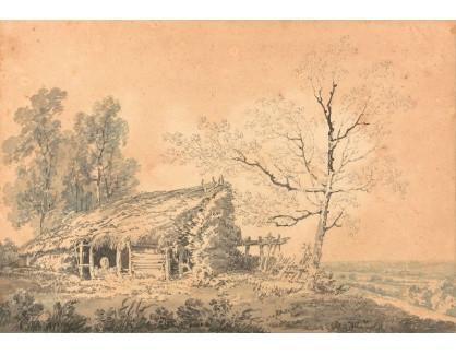 Joseph Mallord William Turner - Krajinomalba se stodolou