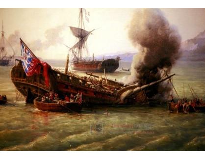 VF180 Pierre-Julien Gilbert - Bitva o Granf Port, detail