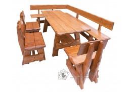 OM-264, zahradní sestava nábytku, smrkový masív výběr moření