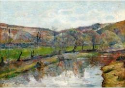 D-7537 Paul Gauguin - Bretaňská krajina