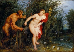 DDSO-1282 Peter Paul Rubens - Pan a Syrinx