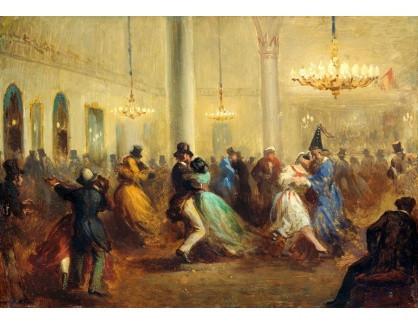 Slavné obrazy XIV-59 Ricardo Balaca - Maškarní bál