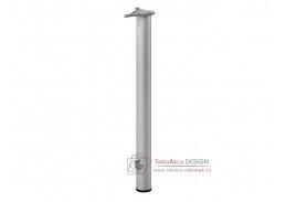 EXPRESS, podnož kovová šedá 6x71cm