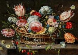 D-9491 Jan van Kessel - Koš s květinami