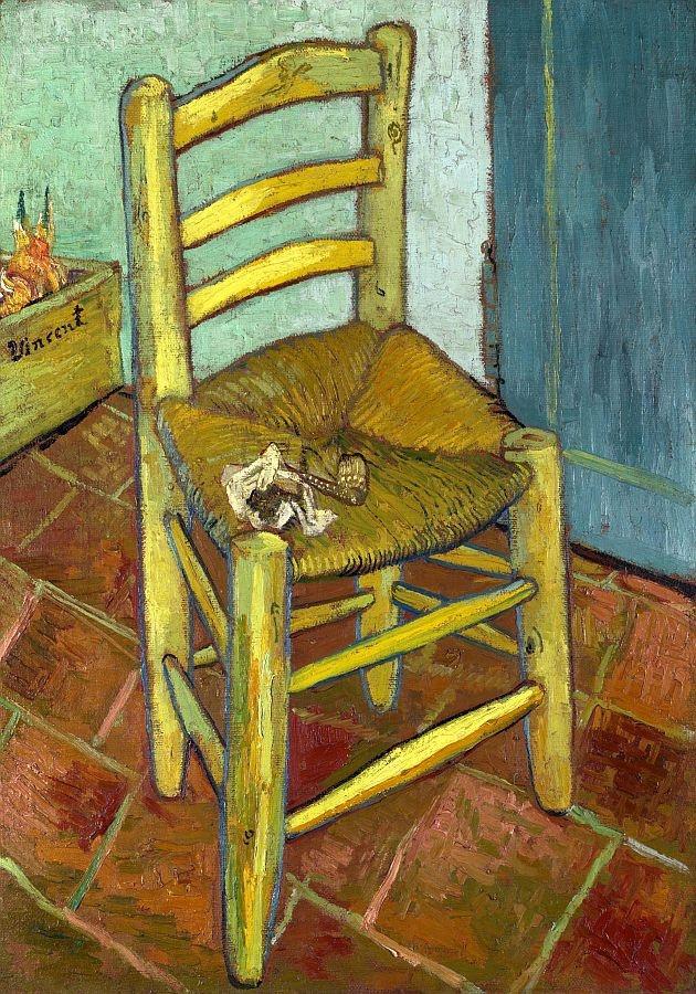 R2-10 Vincent van Gogh - Žlutá židle
