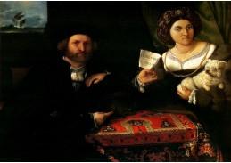 VLL 12 Lorenzo Lotto - Manželský portrét