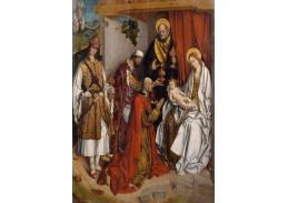 Slavné obrazy XVII-58 Fernando Gallego - Tři králové