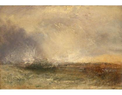 Joseph Mallord William Turner - Bouře u pobřeží
