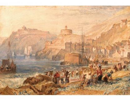 Joseph Mallord William Turner - St Mawes v Cornwallu