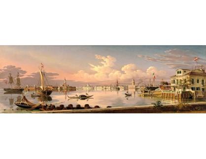 VP428 Robert Salmon - Pohled na Benátky