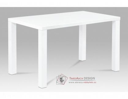AT-3006 WT, jídelní stůl, vysoký lesk bílý