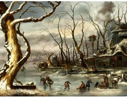 KO III-196 Jan Van Kessel - Zimní krajina