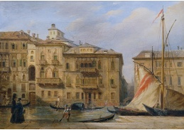 D-7197 Franz Alt - Canal Grande v Benátkách
