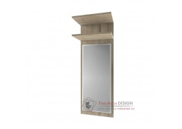 ORESTES, panel se zrcadlem 45cm, dub san remo