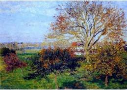 VCP-106 Camille Pissarro - Podzimní ráno v Eragny