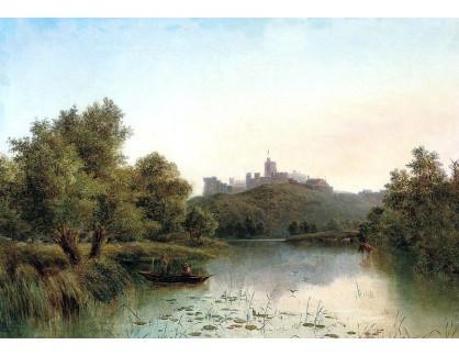 VANG204 George Augustus Williams - Zámek Windsor od Temže