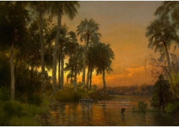 VU102 Hermann Herzog - Západ slunce na Floridě