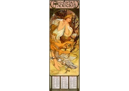 VAM114 Alfons Mucha - Chocolat Masson, Spring