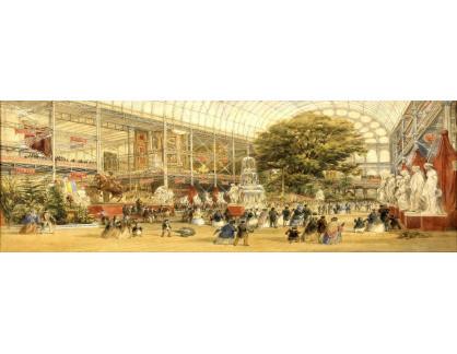 VP431 Thomas Abel Prior - Otevření světové výstavy v Crystal Palace v Londýně
