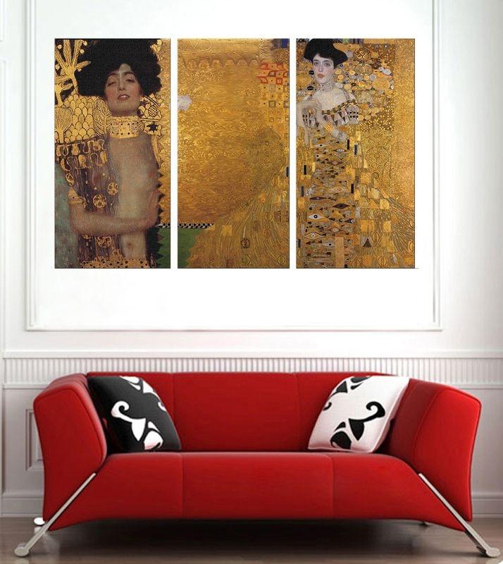 Obrazový set 3D Gustav Klimt 2