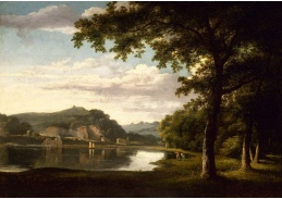VSO 653 Thomas Jones - Krajina s výhledem na řeku Wye