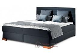 CORALO, čalouněná postel - boxspring 160x200cm