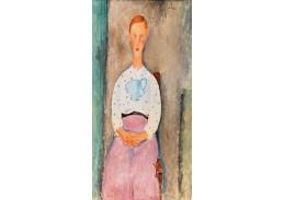 D-8415 Amedeo Modigliani - Dívka s blůzkou