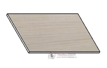 Kuchyňská pracovní deska 80 cm bílá borovice