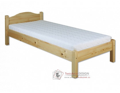 KL-124, postel 80x200cm, borovicový masiv