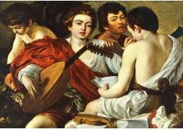 VCAR 18 Caravaggio - Hudebníci