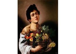 VCAR 22 Caravaggio - Chlapec s košíkem ovoce