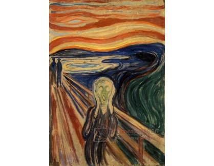 VEM13-76 Edvard Munch - Výkřik