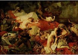 VEF 04 Eugene Ferdinand Victor Delacroix - Smrt Sardanapalus