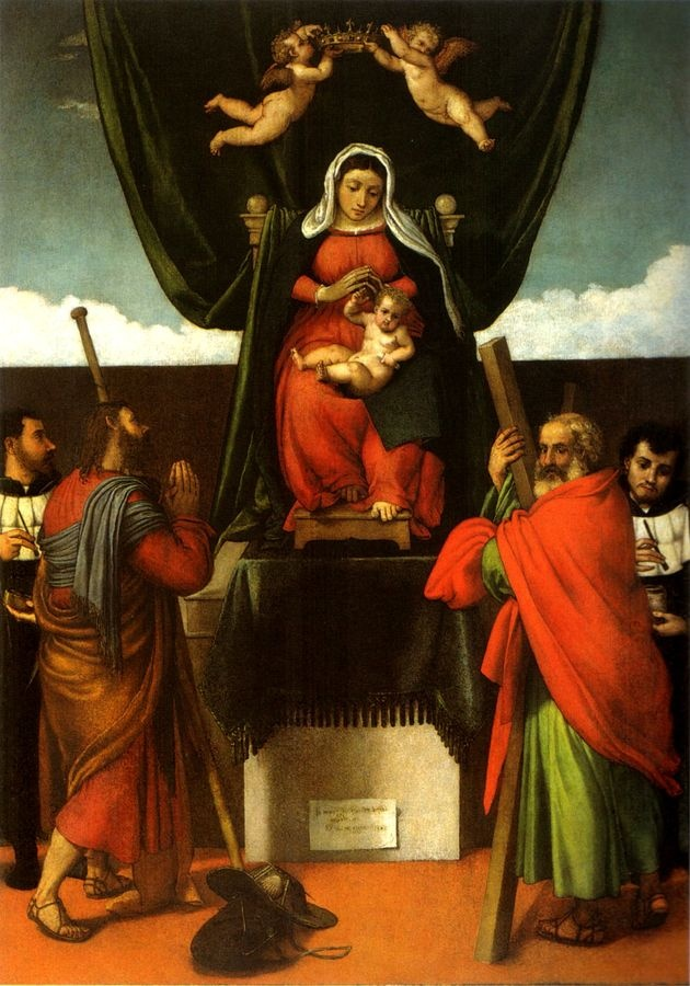 VLL 26 Lorenzo Lotto - Oltář dell Alabarda