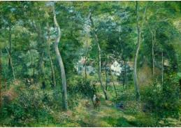 D-7047 Camille Pissarro - Okraj lesa u L Hermitage