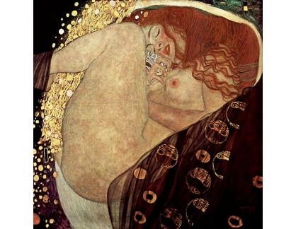 VR3-132 Gustav Klimt - Danae