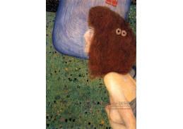 D-9097 Gustav Klimt - Dívka s modrým závojem