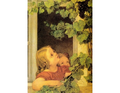 VSO72 Georg Friedrich Kersting - Děti v okně