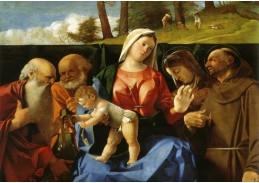 VLL 07 Lorenzo Lotto - Madonna s dítětem a svatými
