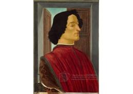 A-80 Sandro Botticelli - Giuliano de Medici