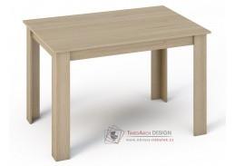 KONGO, jídelní stůl 120x80cm, dub sonoma